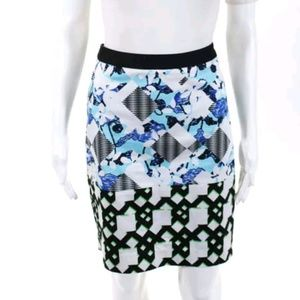Peter Pilotto For Target Abstract Pencil Skirt